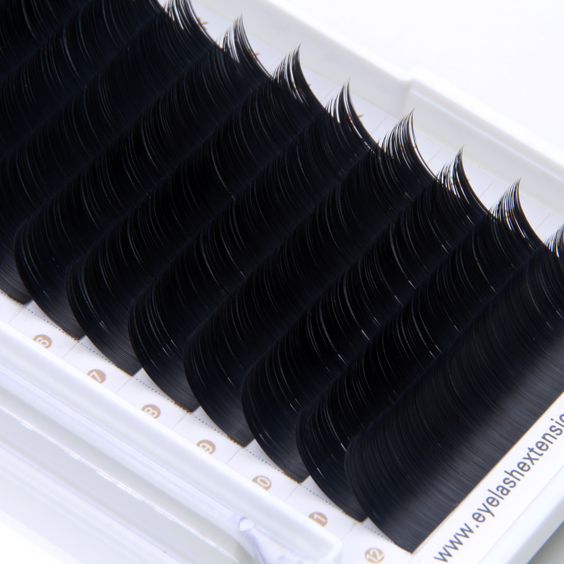 aae5b022ced Real Soft Faux Mink Lashes Glossy or Matte Ellipse Flat False Eyelash  Extensions