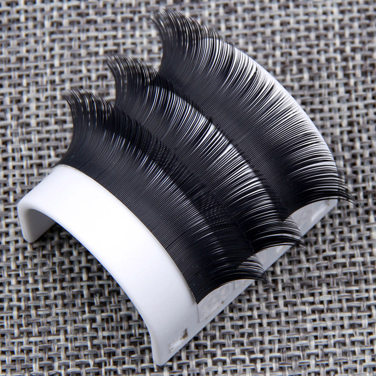 15 Ellipse Flat Lashes Fake Lashes Extensions Long Lasting Hand Made