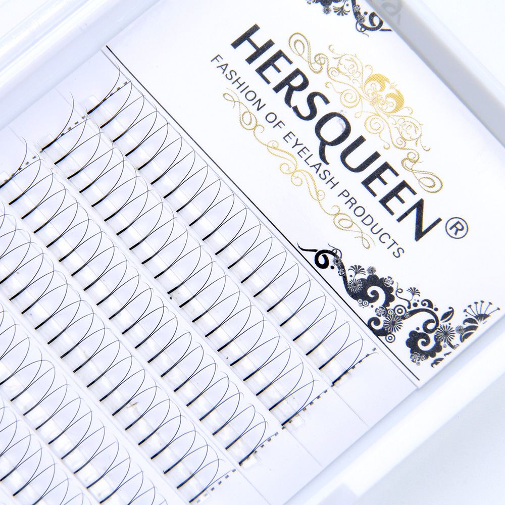 Heat Bonded High Quality Prefanned Lashes Premade Volume Fan