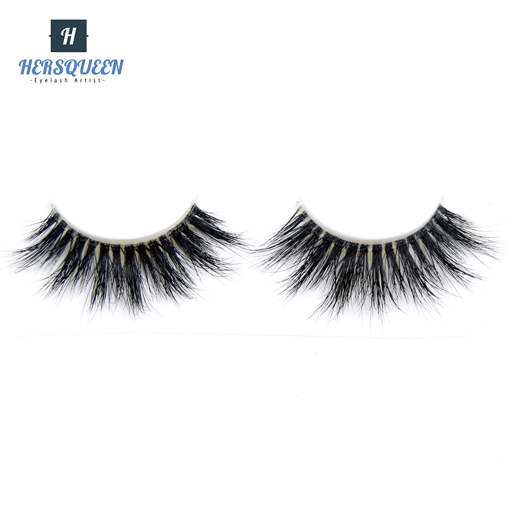 100% Real Siberian Mink Lashes Natural Looking Clear Band